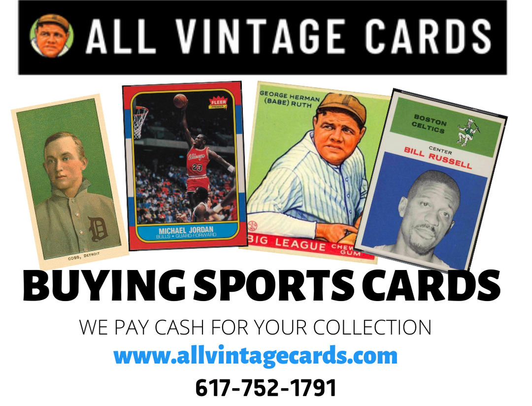 BUYING OLD SPORTS CARDS - CASH PAID